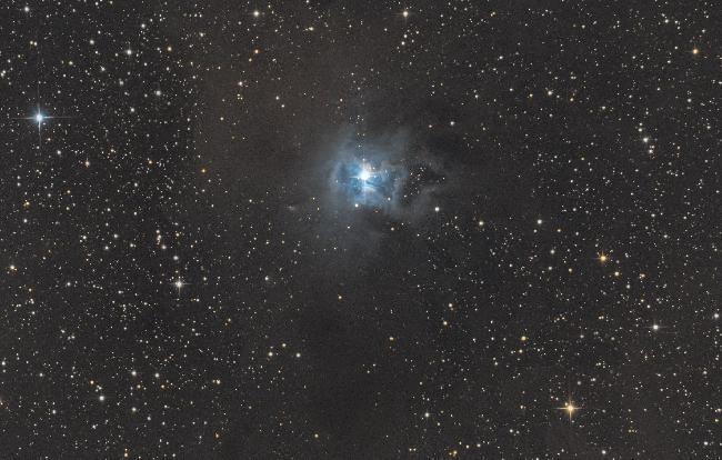 NGC 7023 la nébuleuse de l'Iris