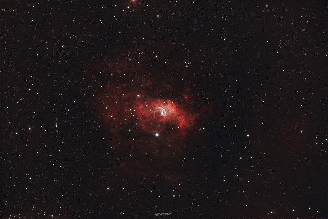 SH2-162-Bubble-Nebula