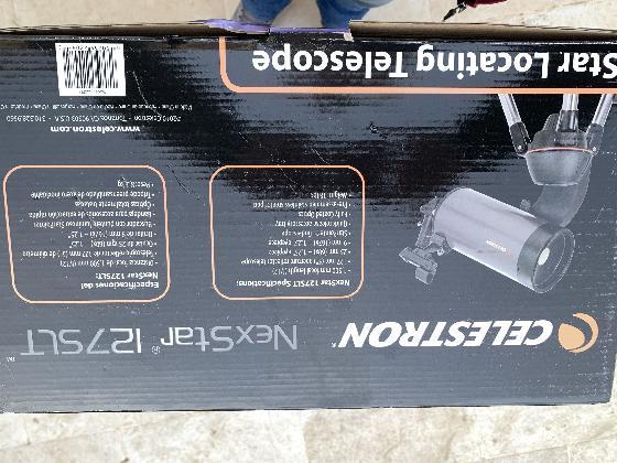 Télescope Celestron NexStar 127 SLT