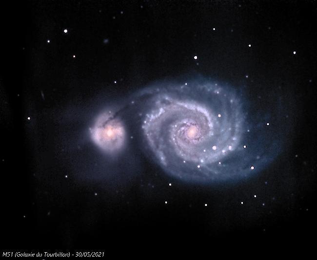 M51 (Galaxie du Tourbillon)
