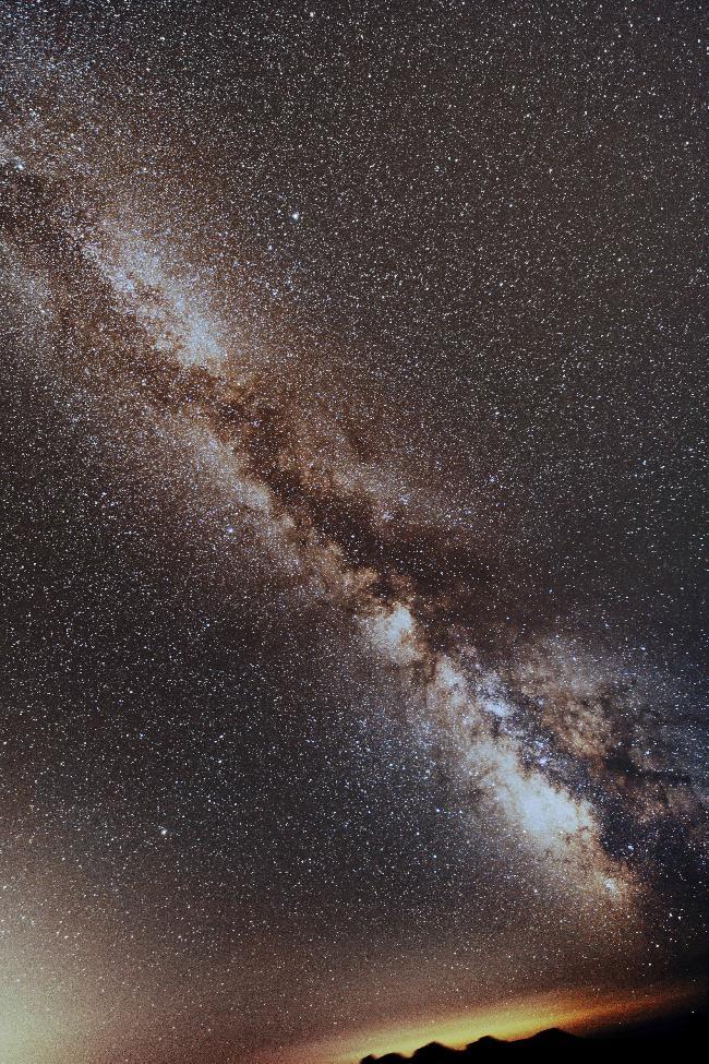 Voie lactée sud à l'observatoire de Satin Véran