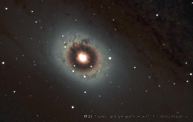 centre de M31