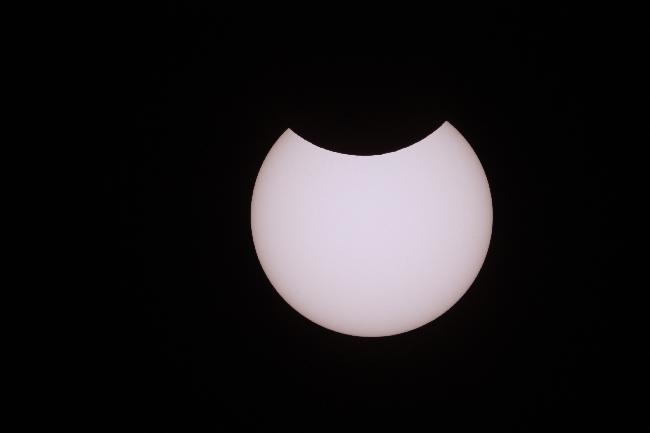 Eclipse partielle 10 juin 2021 - Eure