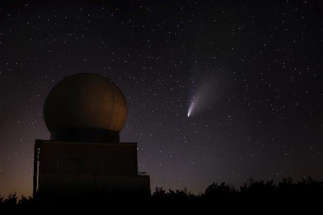 NEOWISE -Grèzes(24)-Station météo