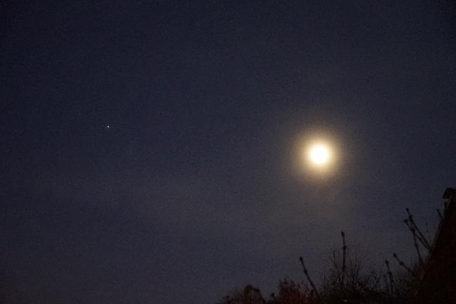 Lune et Mars