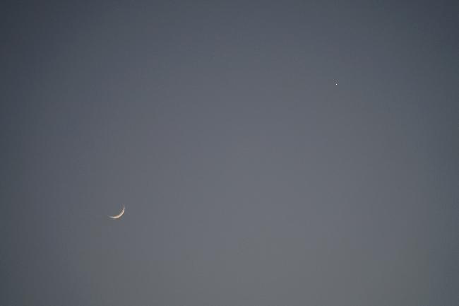 Lune et Vénus