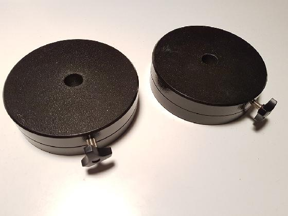 2 contrepoids 5kg pour monture GP / EQ5 / EQ-G