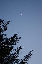 conjonction lune vénus jupiter
