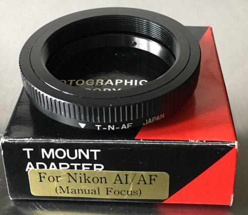 Bague T2 pour Nikon AI/AF
