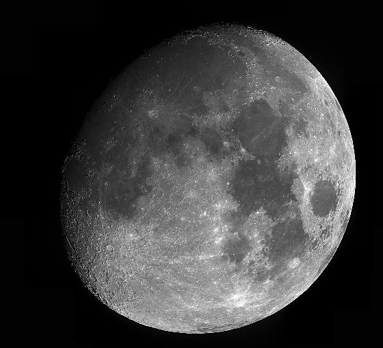Lune normande le 7 avril 2017