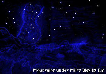 Moutains Milkyway