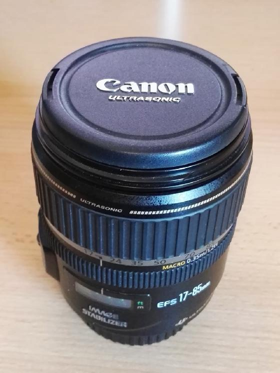 OBJECTIF CANON EFS 17-85 1:4-5.6 IS