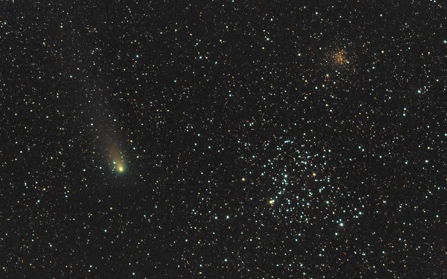 Comète 21P/Giacobini-Zinner 14092018