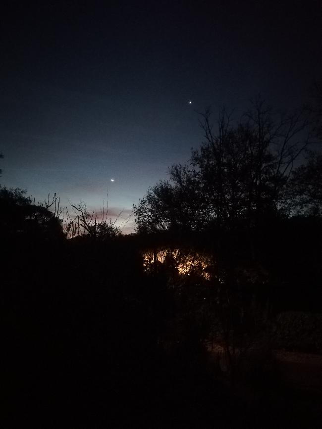 Lune et Vénus du 5.12
