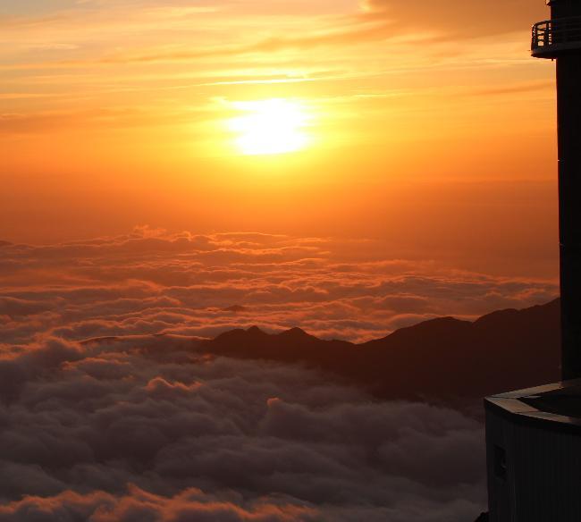 coucher de soleil pic du midi