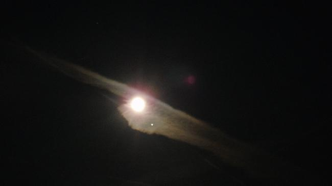 Conjonction Lune-Vénus
