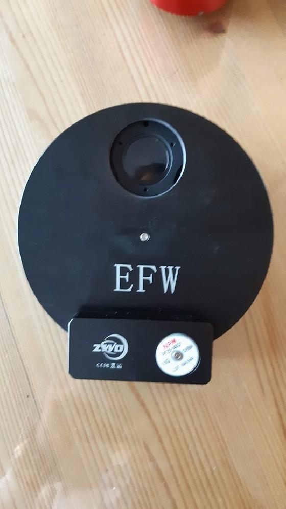 Roue à filtres ZWO complète