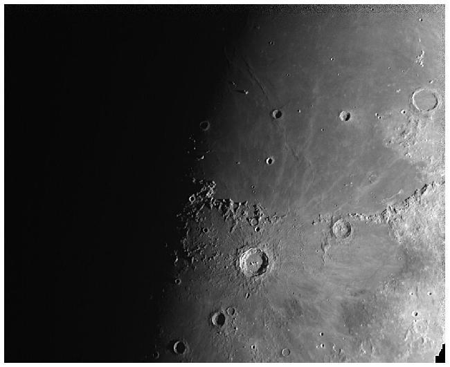 Lune - Ératosthène & Copernic
