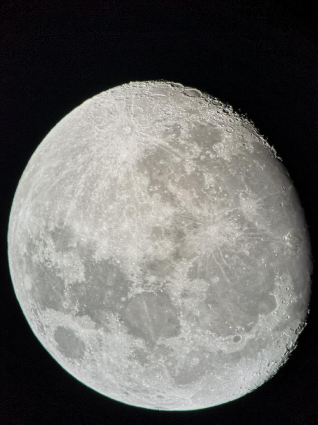 Lune gibbeuse 18 janvier 2019