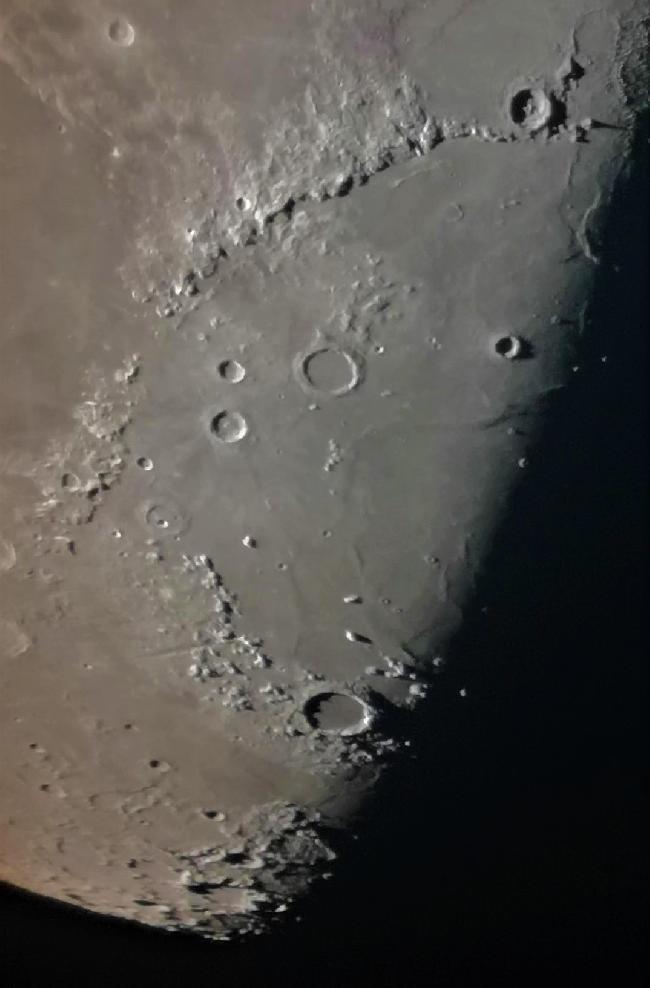 Mare Imbrium, le 13 avril 2019