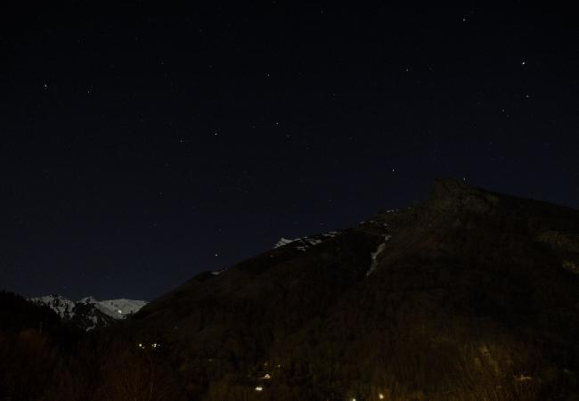 Massif Cauterets et étoiles