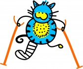 9455821-illustration-de-la-caricature-cute-chat-avec-une-jambe-cassee-et-bequilles.jpg