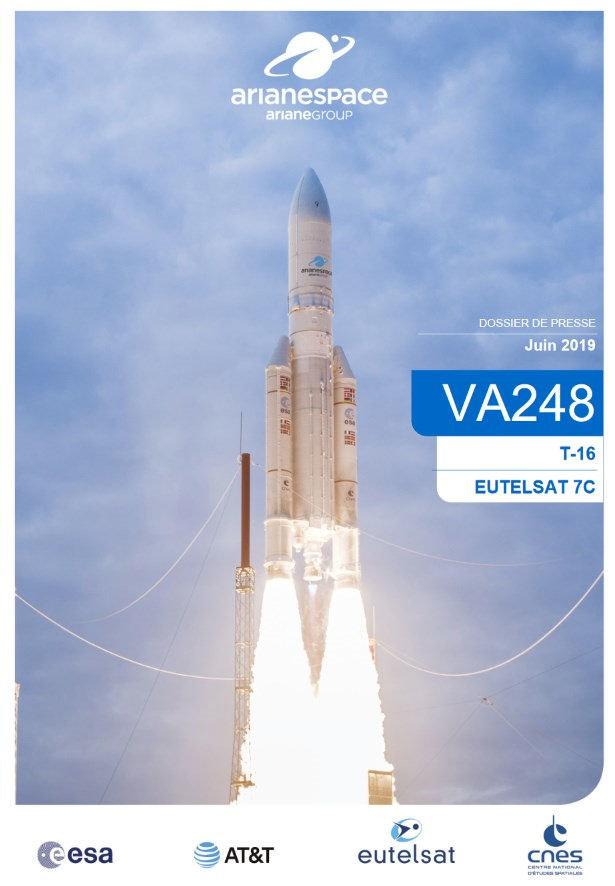 Calendrier Lancement Ariane 2019.Lancements Arianespace 2019 Astronautique Webastro