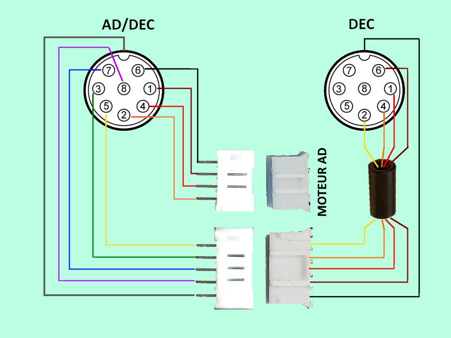 Tests et Upgrade d'une EQM35 Pro ConnexionEQM35.png.665f992d40f4c47a27c23cbb0d39949e